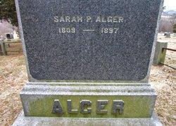 Sarah <I>Palmer</I> Alger