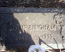 Donald E Bingham