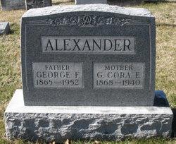 """Glencora Elizabeth """"Cora"""" <I>Brandenburg</I> Alexander"""