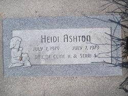 Heidi Ashton