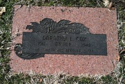 Dorothy Lucille <I>Morlan</I> Cox