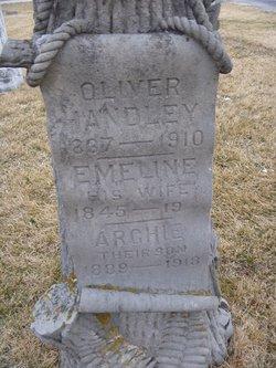Emeline <I>Williams</I> Handley