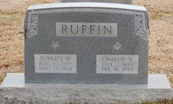 "Charles Newton ""Charlie"" Ruffin"