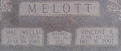 "Ida Mae ""Mae"" <I>Wells</I> Melott"