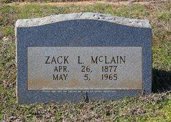 """Zackariah Luther """"Zack"""" McLain"""