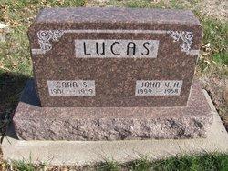 Cora Sarah <I>Lockard</I> Lucas