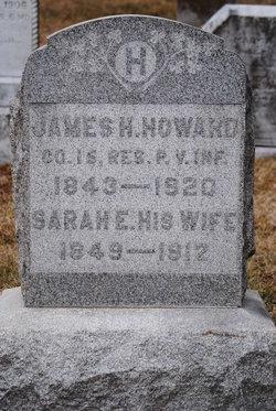 Sarah E <I>Hoover</I> Howard