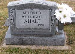 Mildred <I>Wetnight</I> Ahalt