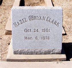 Hazel <I>O'Bryan</I> Clark