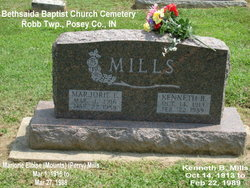 Marjorie Eloise <I>Mounts</I> Mills