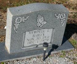 Merdell <I>Lott</I> Bailey