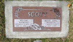 Betty Jewel <I>Petersen</I> Scott