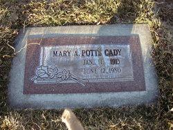 Mary Audell <I>Potts</I> Cady