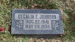 Cecilia Elmina <I>Sanford</I> Johnson