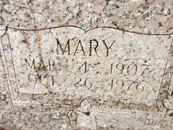 Mary <I>Robbins</I> Bullock