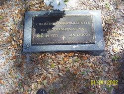 Christine <I>Underwood</I> Kyte
