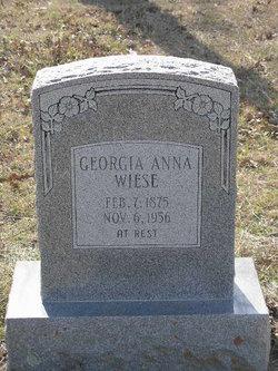 Georgia Anna <I>Hester</I> Wiese