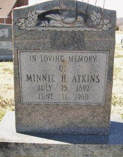 Minnie Ethel <I>Deaton</I> Atkins