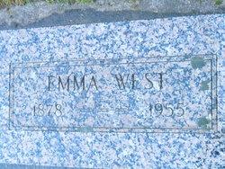 Emma <I>Gross</I> West