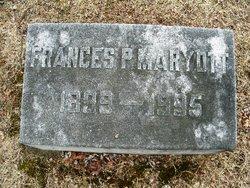 Frances <I>Prince</I> Maryott
