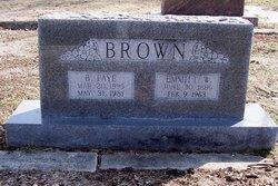 Beaulah Faye <I>Stephens</I> Brown