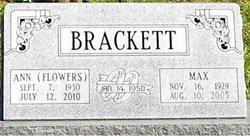 Ann <I>Flowers</I> Brackett
