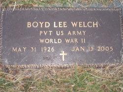Boyd Lee Welch