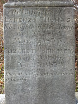 Elizabeth Brindley <I>Colesberry</I> Thomas