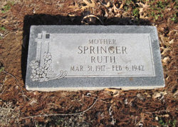 Mrs Ruth Opel <I>Moody</I> Springer