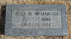 Alexander D McHargue