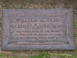 """William Abraham """"Abe"""" Crisp"""