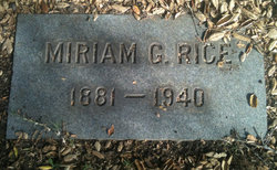 Miriam <I>Grant</I> Rice