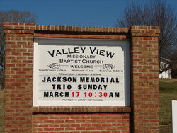 Valley View Missionary Baptist Church Cemetery