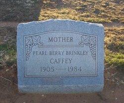 Pearl <I>Brinkley</I> Caffey