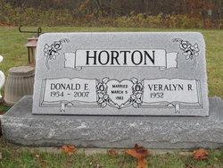 Donald E Horton