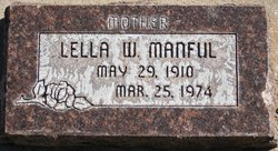 Lella Mae <I>Watson</I> Manful