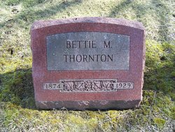 """Margaret Elizabeth """"Bettie"""" Thornton"""