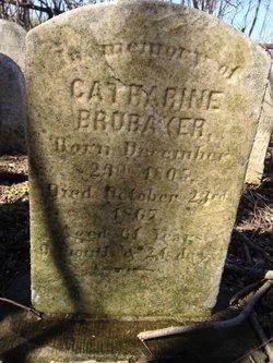 Catharine <I>Longenecker</I> Brubaker