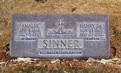 Henry Sinner, Sr