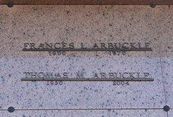 Thomas M Arbuckle
