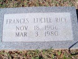Frances Lucile Rice