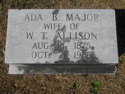 Ada B <I>Major</I> Allison