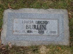 Louisa <I>Ericson</I> Burlin