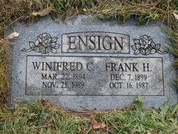 Winifred <I>Cedarstrom</I> Ensign