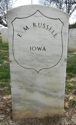 Pvt Enos M Russell