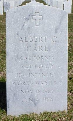 Albert C Hare