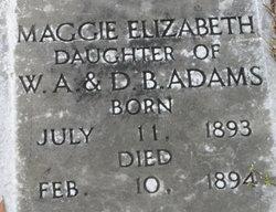 Maggie Elizabeth Adams