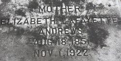 Elizabeth Lilla <I>Warren</I> Andrews