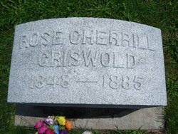 Rose <I>Cherrill</I> Griswold