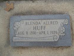 Blenda <I>Allred</I> Huff